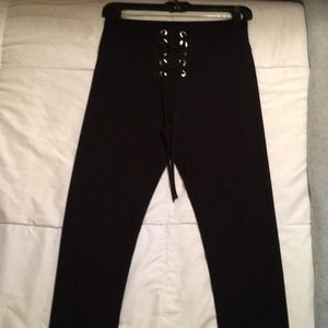 Express high waisted leggings. Size Small.